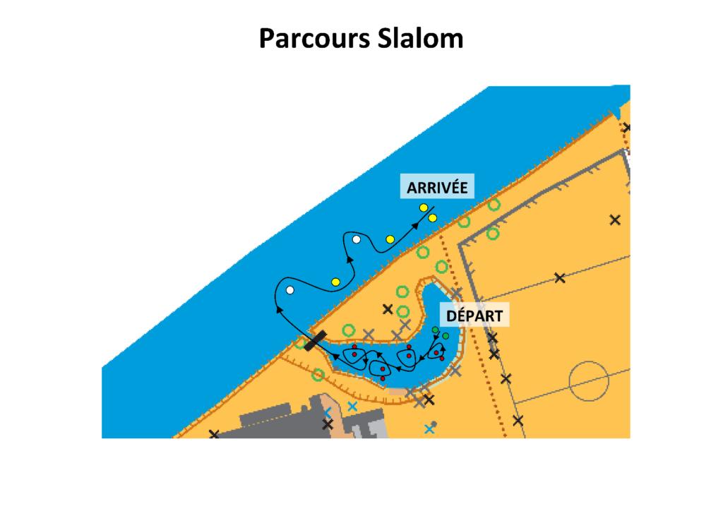 Parcours Slalom Course Jeune